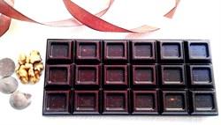 Шоколад на меду с орехами и ягодами, плитка 110 гр. - фото 5334