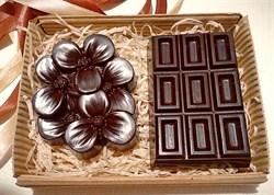 """Набор шоколада на меду с орехами и ягодами """"Хорошее настроение"""", 160 гр. - фото 5342"""